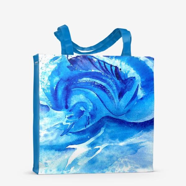 Сумка-шоппер «Синяя мечта»