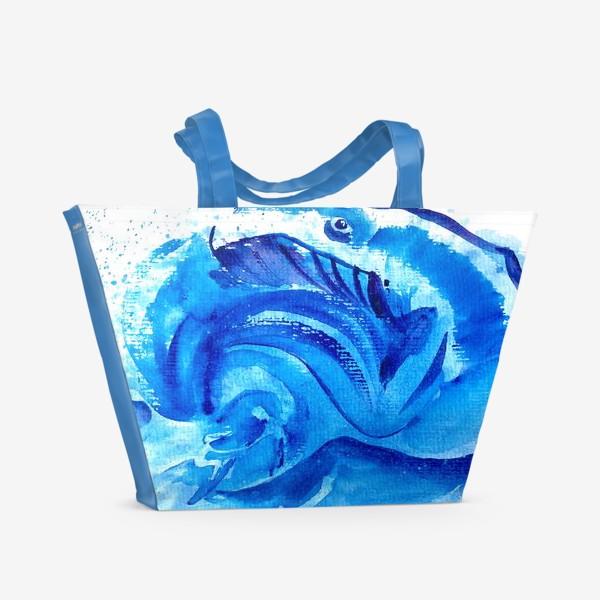Пляжная сумка «Синяя мечта»