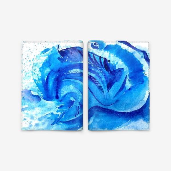 Обложка для паспорта «Синяя мечта»