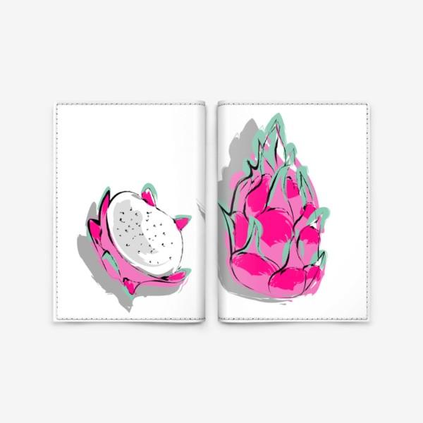 Обложка для паспорта «Питая или драконий фрукт. Яркий тропический фрукт»