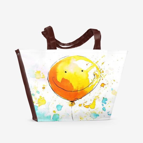 Пляжная сумка «Слон приносящий счастье»