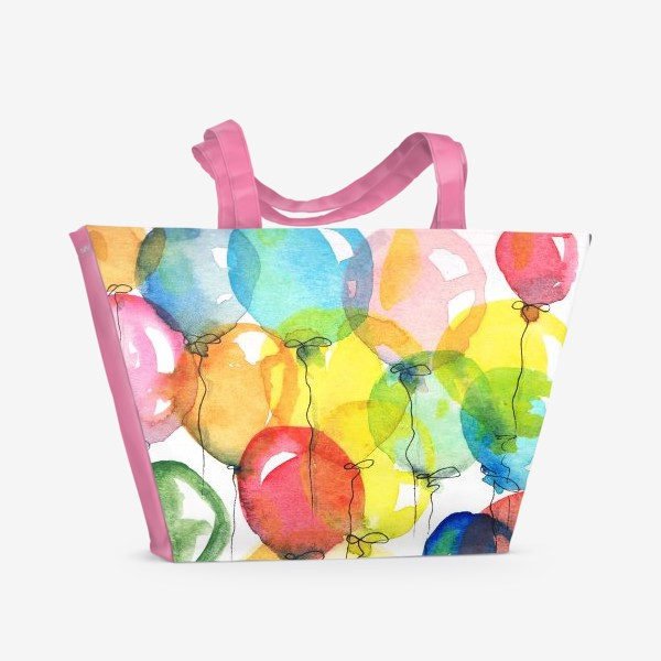 Пляжная сумка «шарики»
