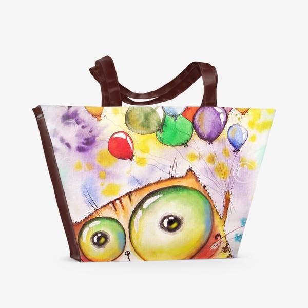 Пляжная сумка «полетели»