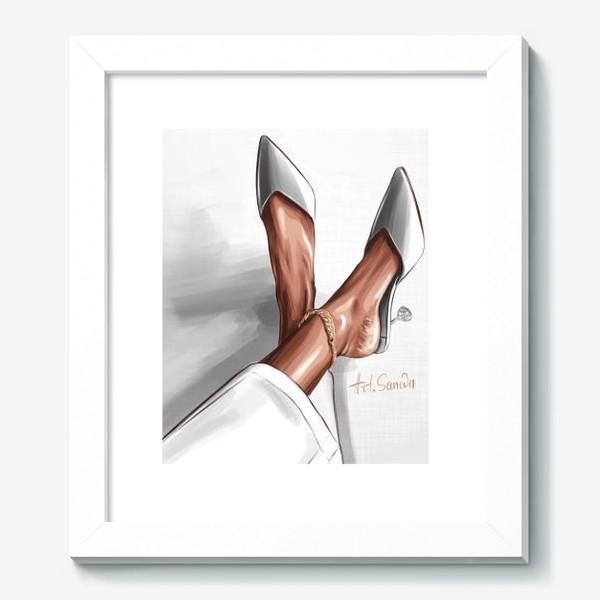 Картина «Лодочки серый»