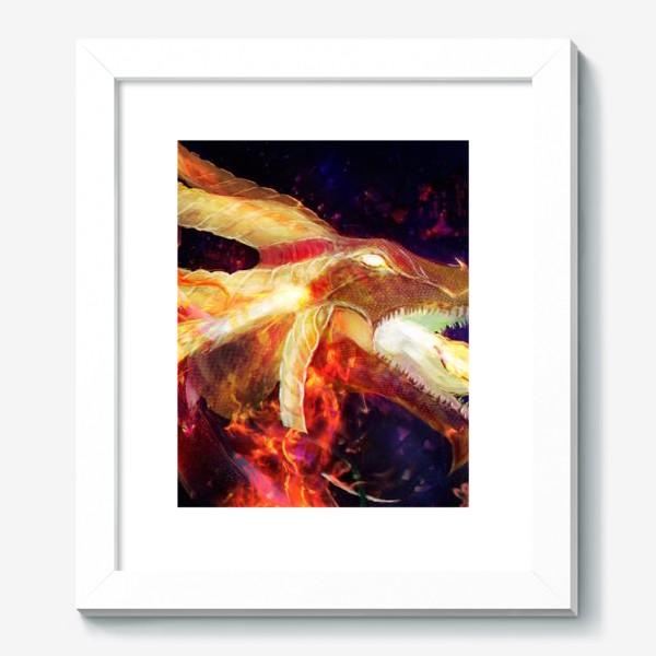 Картина «Лина - огненная девушка»