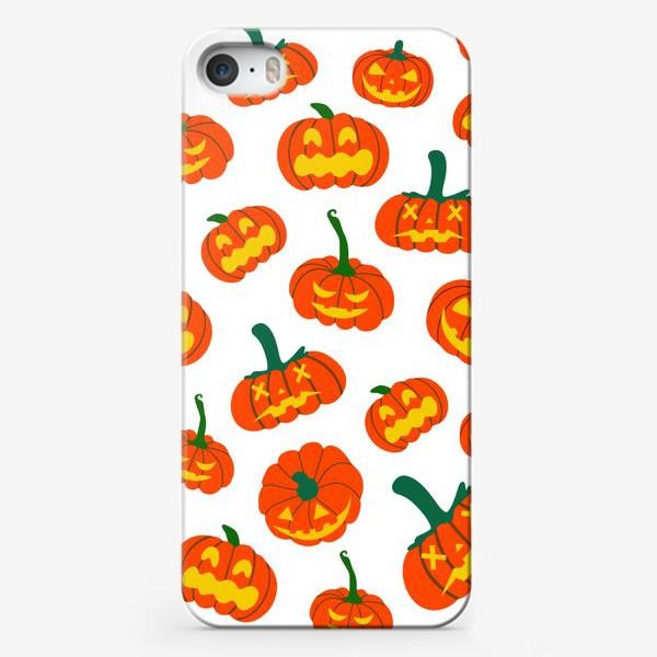 Чехол iPhone «Тыквы. Осень. Хэллоуин. День Благодарения»