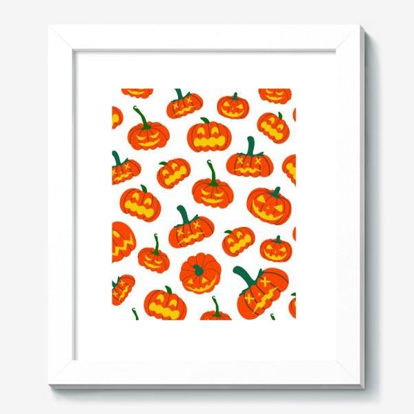 Картина «Тыквы. Осень. Хэллоуин. День Благодарения»