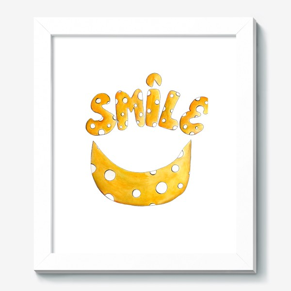 Картина «Улыбнись! Счастье тебе к лицу!»