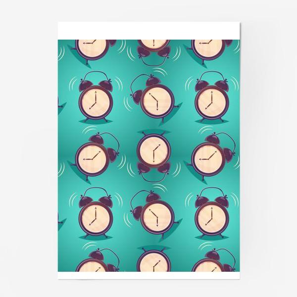 Постер «Alarm clock, будильники»