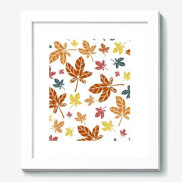 Картина «кленовые листья»