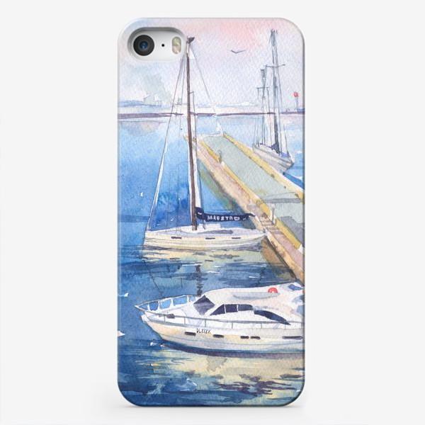 Чехол iPhone «Яхт-клуб»