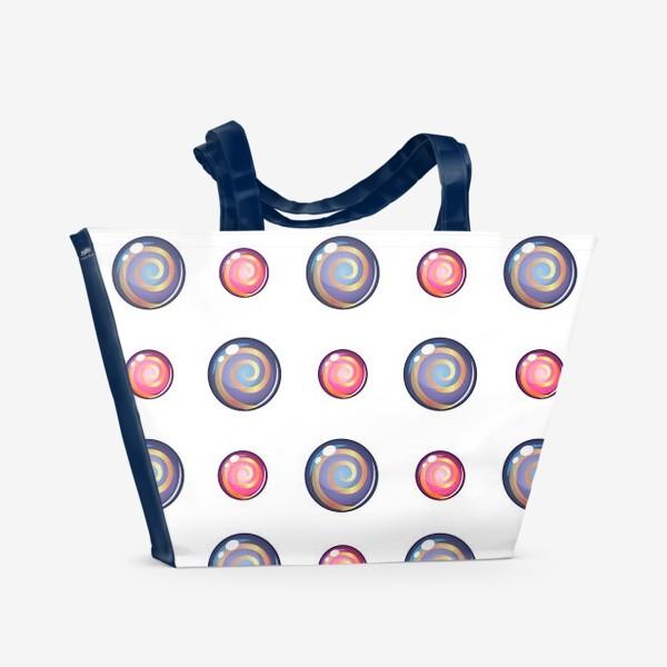 Пляжная сумка «Шары»