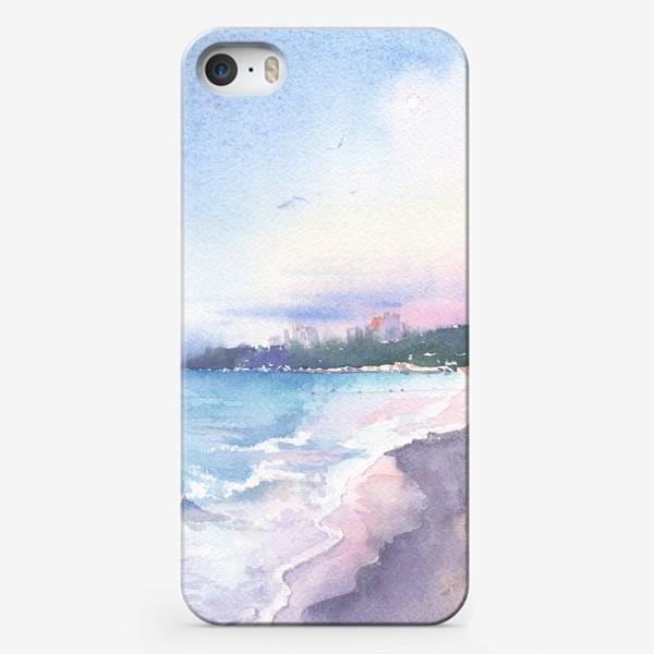 Чехол iPhone «Рассветное море»