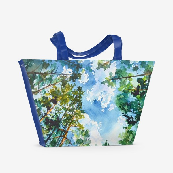 Пляжная сумка «Небо»