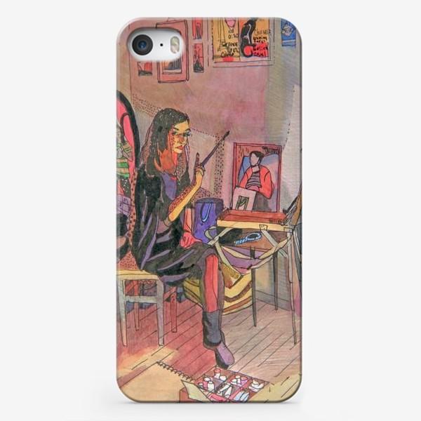 Чехол iPhone «Художницы»