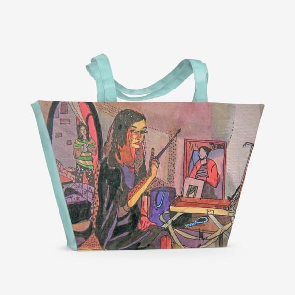 Пляжная сумка «Художницы»