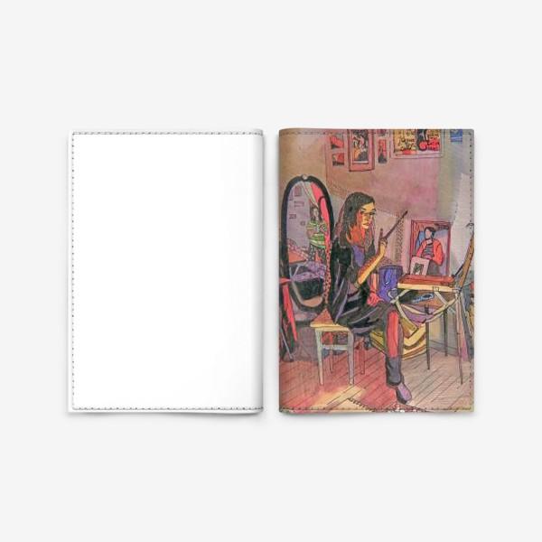 Обложка для паспорта «Художницы»