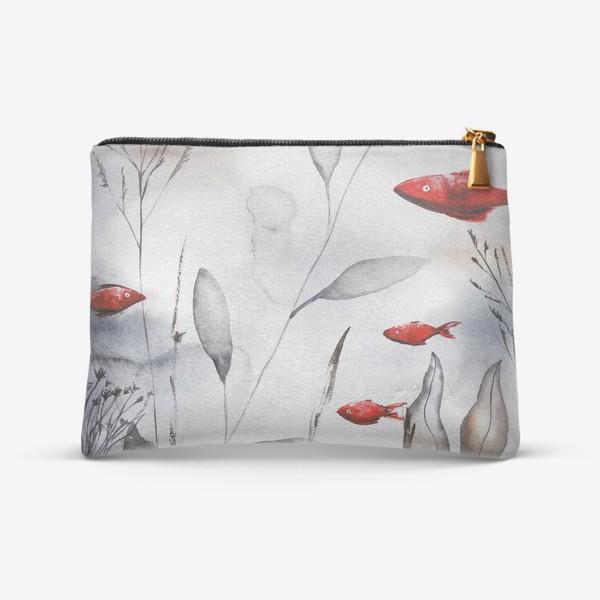 Косметичка «Красные рыбки»