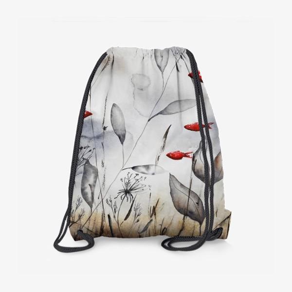 Рюкзак «Красные рыбки»