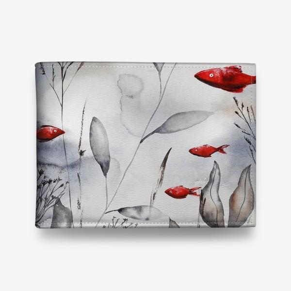 Кошелек «Красные рыбки»