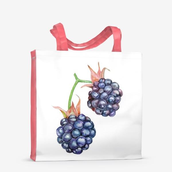 Сумка-шоппер «The bush of the forest blackberry.»