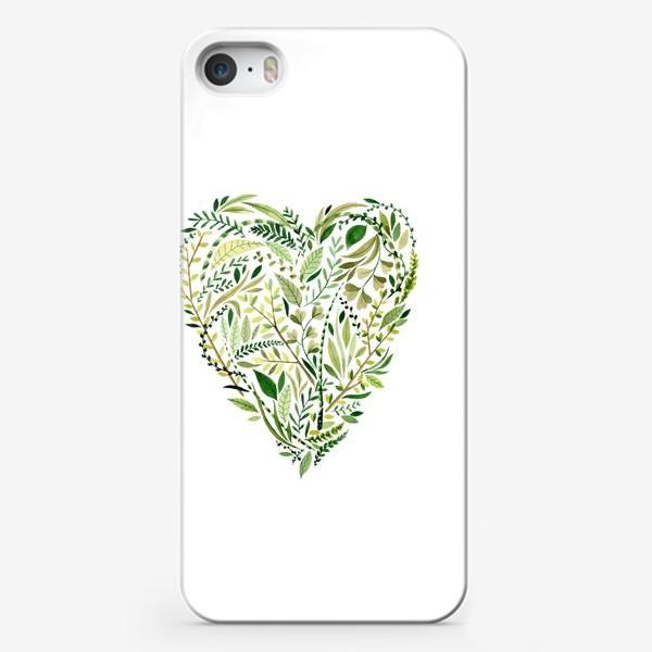 Чехол iPhone «Herb »