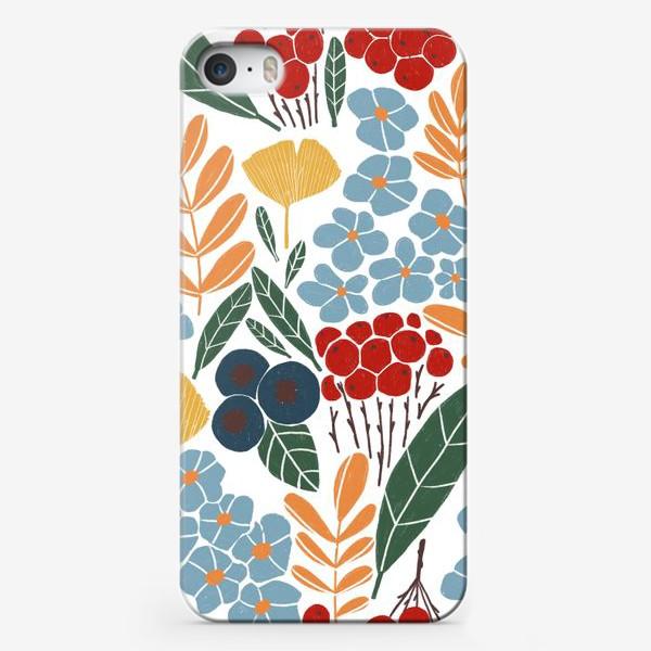 Чехол iPhone «Скандинавская осень»