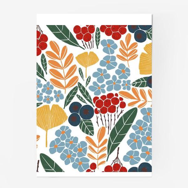 Постер «Скандинавская осень»