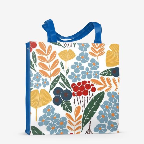 Сумка-шоппер «Скандинавская осень»