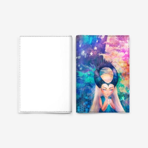 Обложка для паспорта «Звездочка»