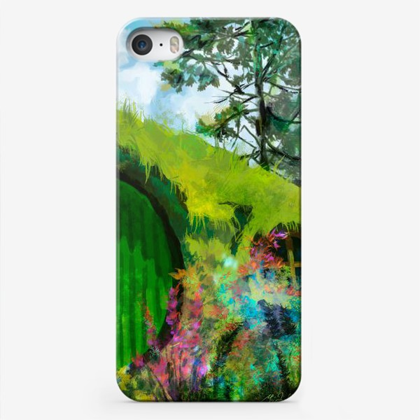 Чехол iPhone «Хоббитон»