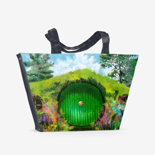 Пляжная сумка «Хоббитон»