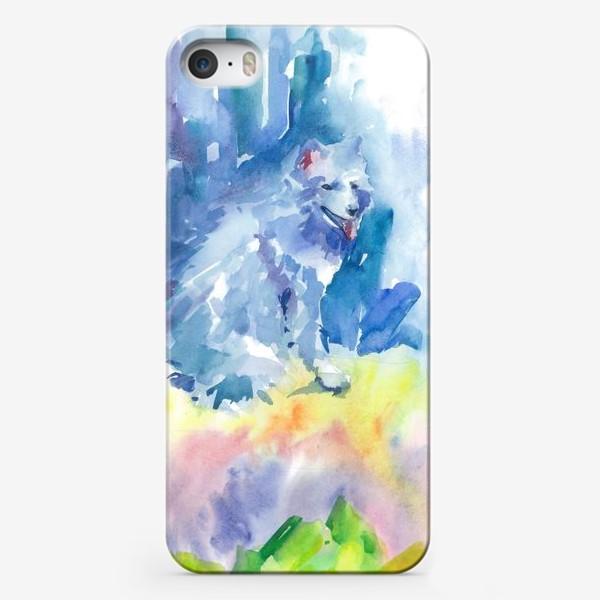 Чехол iPhone «Волшебный лес. Волк»