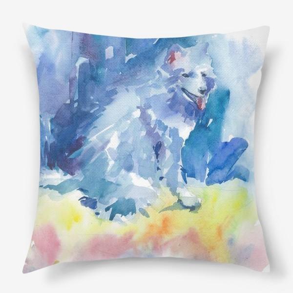 Подушка «Волшебный лес. Волк»