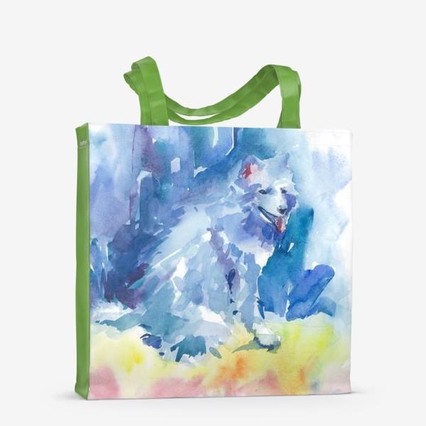 Сумка-шоппер «Волшебный лес. Волк»