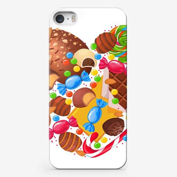 Чехол iPhone «конфетное сердце»