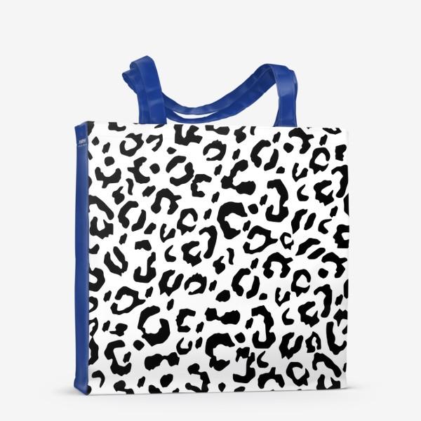 Сумка-шоппер «Леопардовый принт»