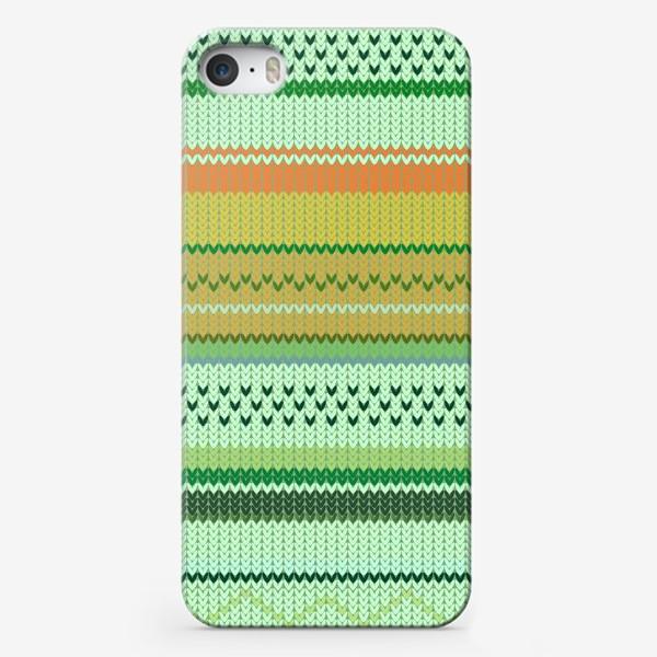Чехол iPhone «вязаный узор»