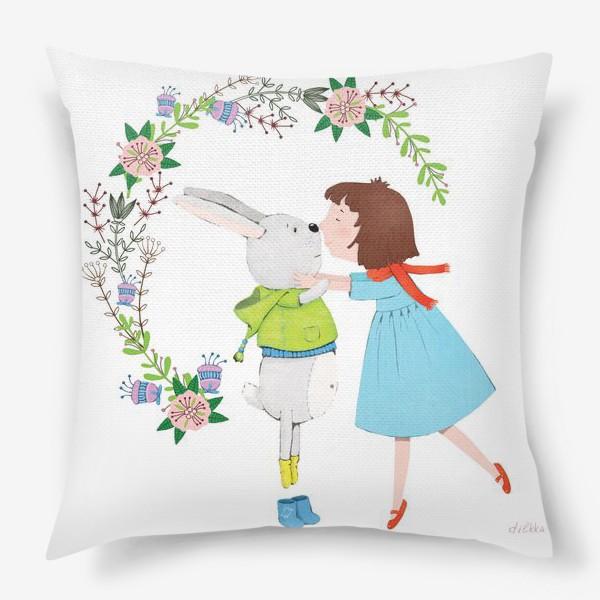Подушка «Весенний поцелуй»