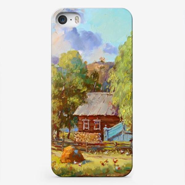 Чехол iPhone «Лето в деревне»