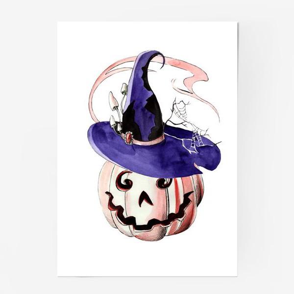 Постер «Тыква в волшебной шляпе»