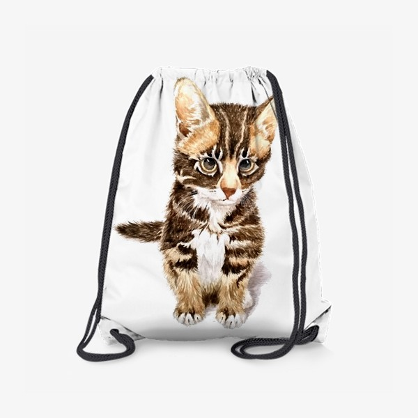 Рюкзак «Милый котенок сидит»