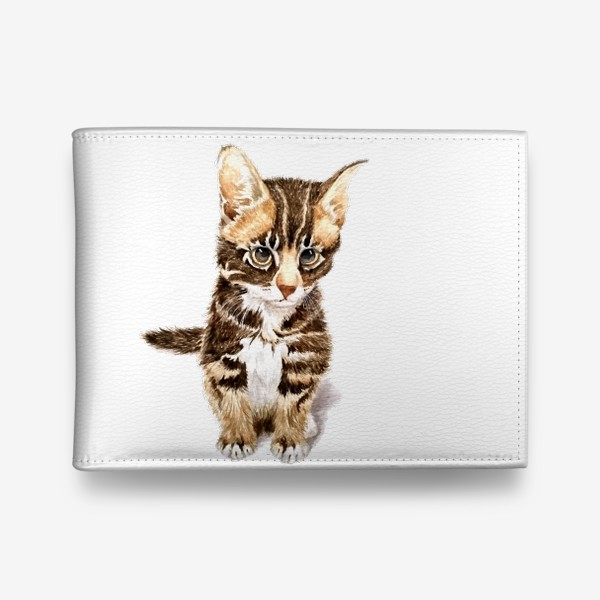 Кошелек «Милый котенок сидит»