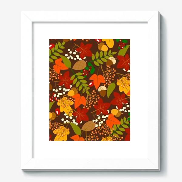 Картина «лесная осень»