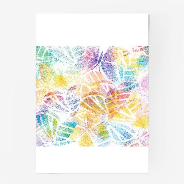Постер «Абстрактные бабочки»