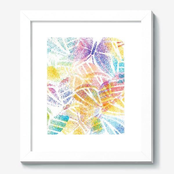 Картина «Абстрактные бабочки»
