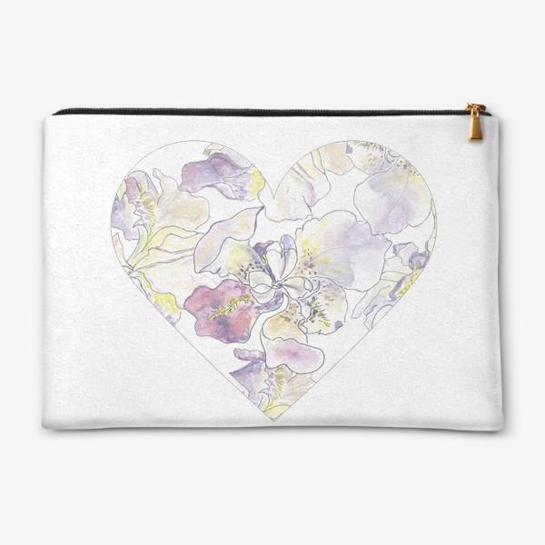 Косметичка «Цветочное сердце - на память о приятном»