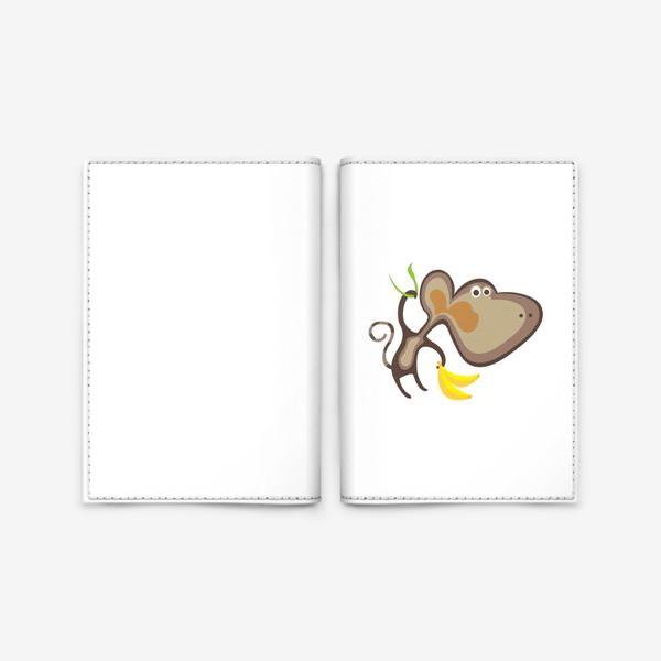 Обложка для паспорта «Обезьянка»