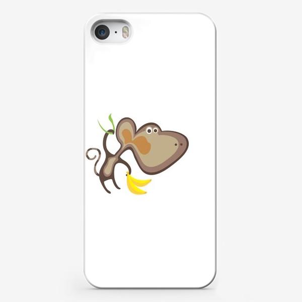 Чехол iPhone «Обезьянка»