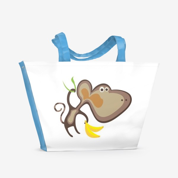 Пляжная сумка «Обезьянка»